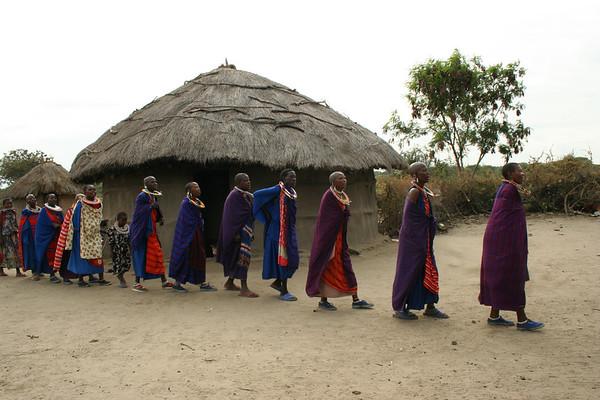 Tanzania 2007 - Maasai Village