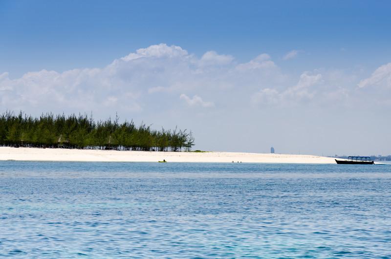 Island off Dar Es Salaam