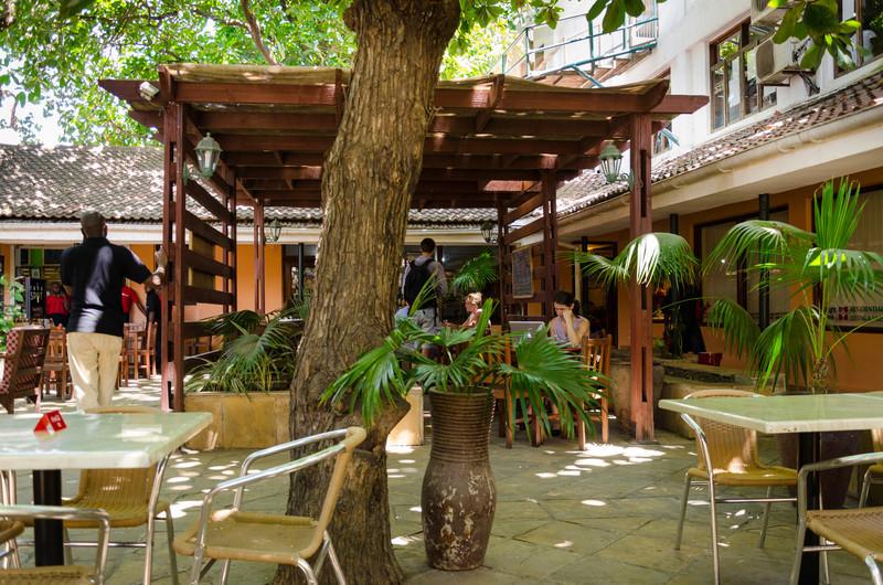 Lunch in Dar Es Salaam