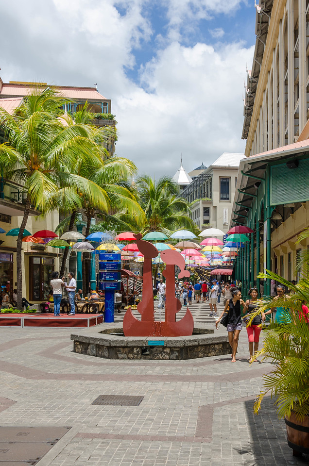Mall in Port Louis