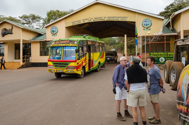 Entrance Gate, Ngorongoro Conservation Area