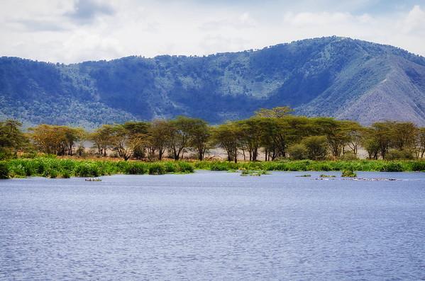 Lake, Ngorongoro Crater