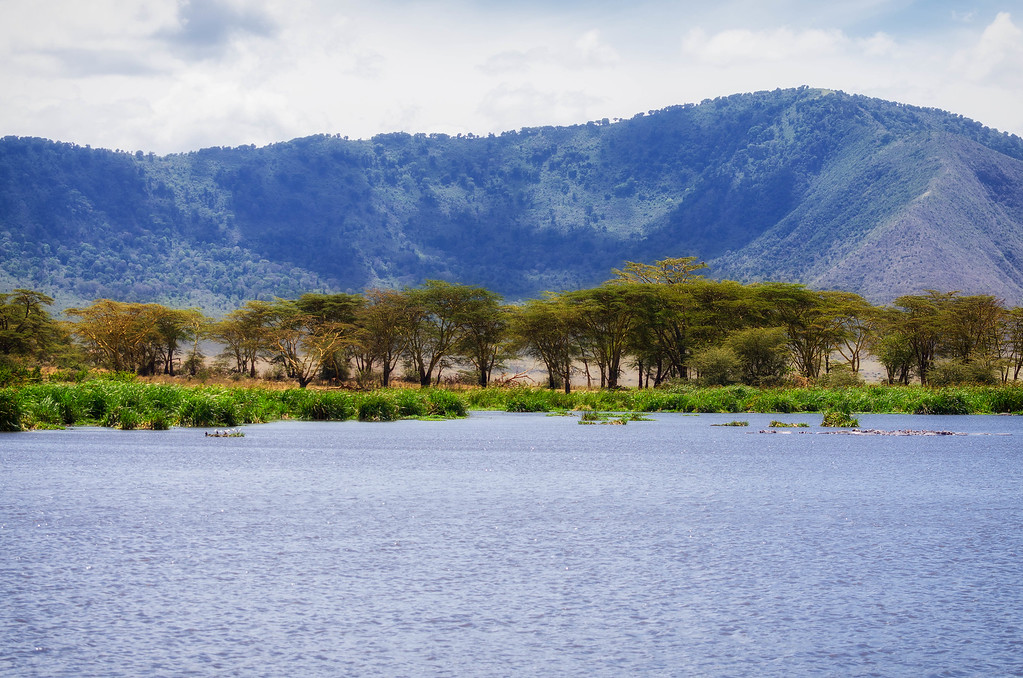 Lake, Ngorongoro Crater