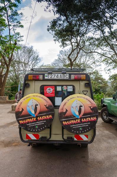Bushbuck Safaris Land Cruiser