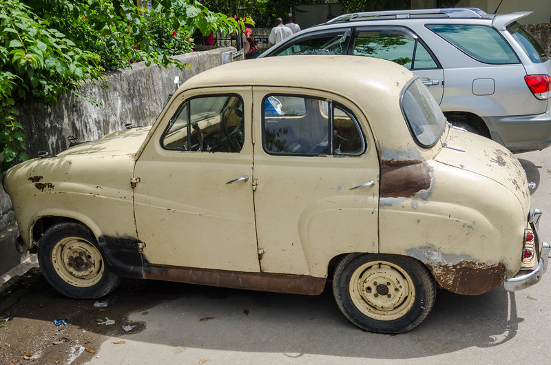 Old Car in Stone Town