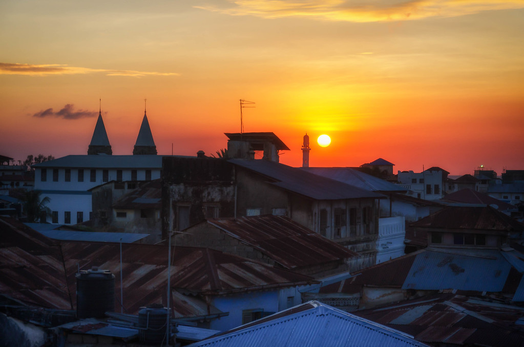 Stone Town Sunset