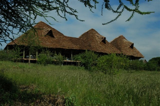 Lake Burunge Tented Camp Main Building