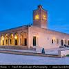 Northern Africa - Tunisia - Monastir - المـنسـتير - Al-Munastîr - Excellent sandy beaches on shores of Mediterranean Sea & reliable sunshine make it a popular Tunisian tourist resort - Medina - Old Town - Great Mosque of Monastir