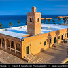 Northern Africa - Tunisia - Monastir - المـنسـتير - Al-Munastîr - Excellent sandy beaches on shores of Mediterranean Sea & reliable sunshine make it a popular Tunisian tourist resort - Great Mosque of Monastir