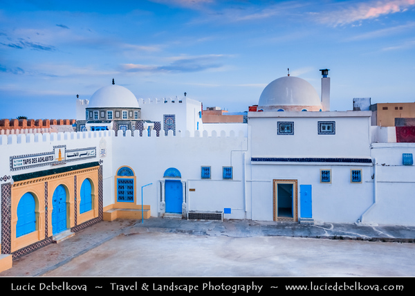 Northern Africa - Tunisia - Kairouan - Kirwan - al-Qayrawan - UNESCO World Heritage site - Holiest city of Tunisia & oldest Islamic settlement with the oldest mosque in North Africa