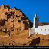 Northern Africa - Tunisia - Tataouine district - Chenini - شنيني‎ - Ancient ruined Berber village on a hilltop & former ksar - fortified granary