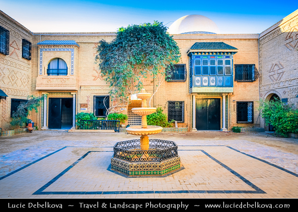 Northern Africa - Tunisia - The Sahara Desert - الصحراء الكبرى - The Greatest Desert - Tozeur - توزر, - Tuzer - Oases town famous for its delicious dates - Dar Cherait Museum