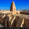 Northern Africa - Tunisia - Kairouan - Kirwan - al-Qayrawan - UNESCO World Heritage site - Holiest city of Tunisia & oldest Islamic settlement with the oldest mosque in North Africa - Old Medina