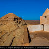 Northern Africa - Tunisia - Tataouine district - Guermessa - Guermassa - Ancient ruined Berber village on a hilltop & former ksar - fortified granary