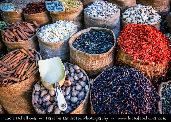 Northern Africa - Tunisia - Tunis - تونس - Tūnis - Capital City - Medina of Tunis - UNESCO World Heritage Site - From the 12th to the 16th century, Tunis was considered one of the greatest and wealthiest cities in the Islamic world - Traditional Souq - Souk - Market
