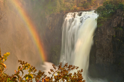 One small section of Victoria Falls