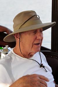 _D038781 Harry Bregman on the Zambezi River