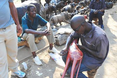 _D038731 Open Market, Victoria Falls, Zimbabwe