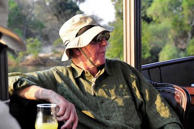 _D038803 Dale Dickerson on the Zambezi River