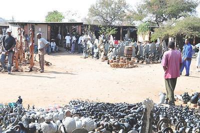 _D038727 Open Market, Victoria Falls, Zimbabwe