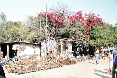 _D038733 Open Market, Victoria Falls, Zimbabwe