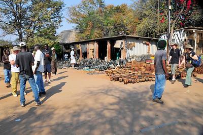 _D038732 Open Market, Victoria Falls, Zimbabwe