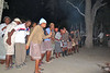 Boma dinner experience back at camp with staff entertainers/