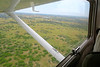 Flying from Kasane, Botswana, just over the border from Victoria Falls, to Vumburu Plains camp.