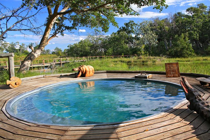 Camp pool.
