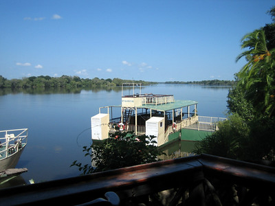 View over the Zambezi.