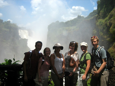 Tobias, Steph, Dom, Lorna, Gem and Alex - the Zim explorers!