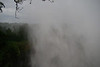 Victoria Falls - clouded in mist, which was generally the way we saw it