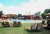 The grounds of the Zambesi Sun Resort