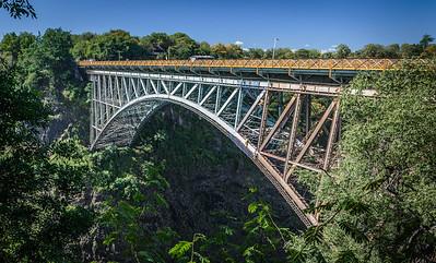 Bridge from Zimbabwe to Zambia