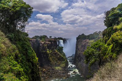 Victoria Falls, Zimbabwe Victoria Falls from the Zimbabwe  side.