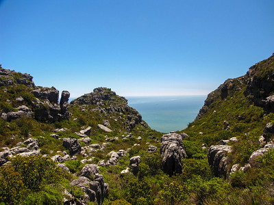 Top of Table Mountain.