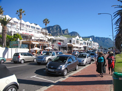 Camp's Bay, a suburb of Cape Town.