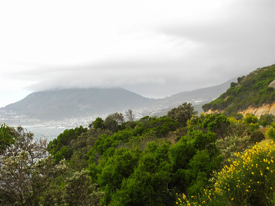 View back toward the Cape Town suburbs from Cosy Bay.