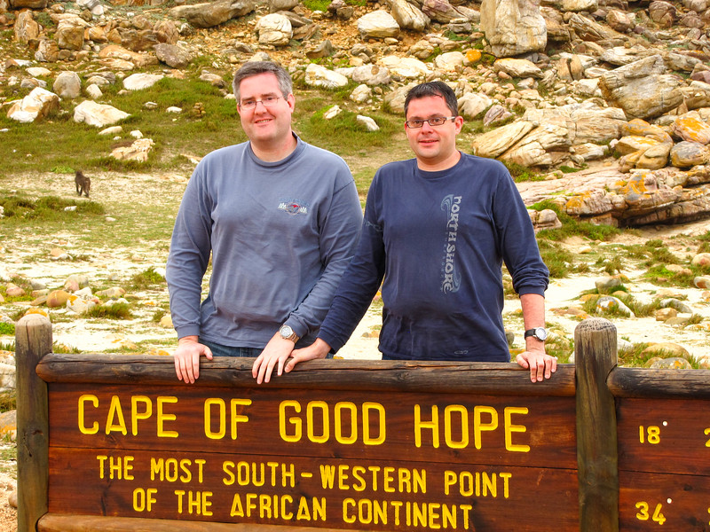 Steven & Brian at Cape Point