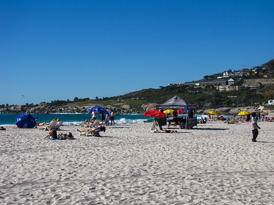 Beach in Camp's Bay.