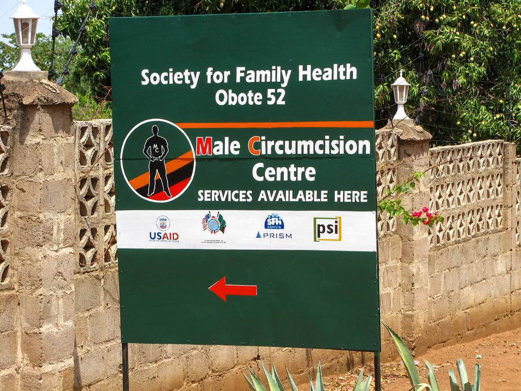 This clinic was just around the corner from the lodge we stayed at in Livingstone, Zambia.