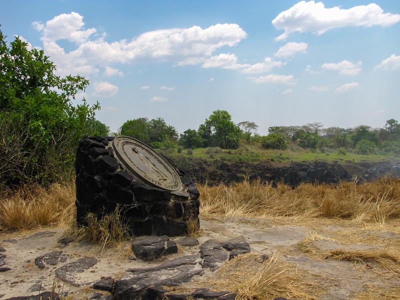 Livingstone Island Monument