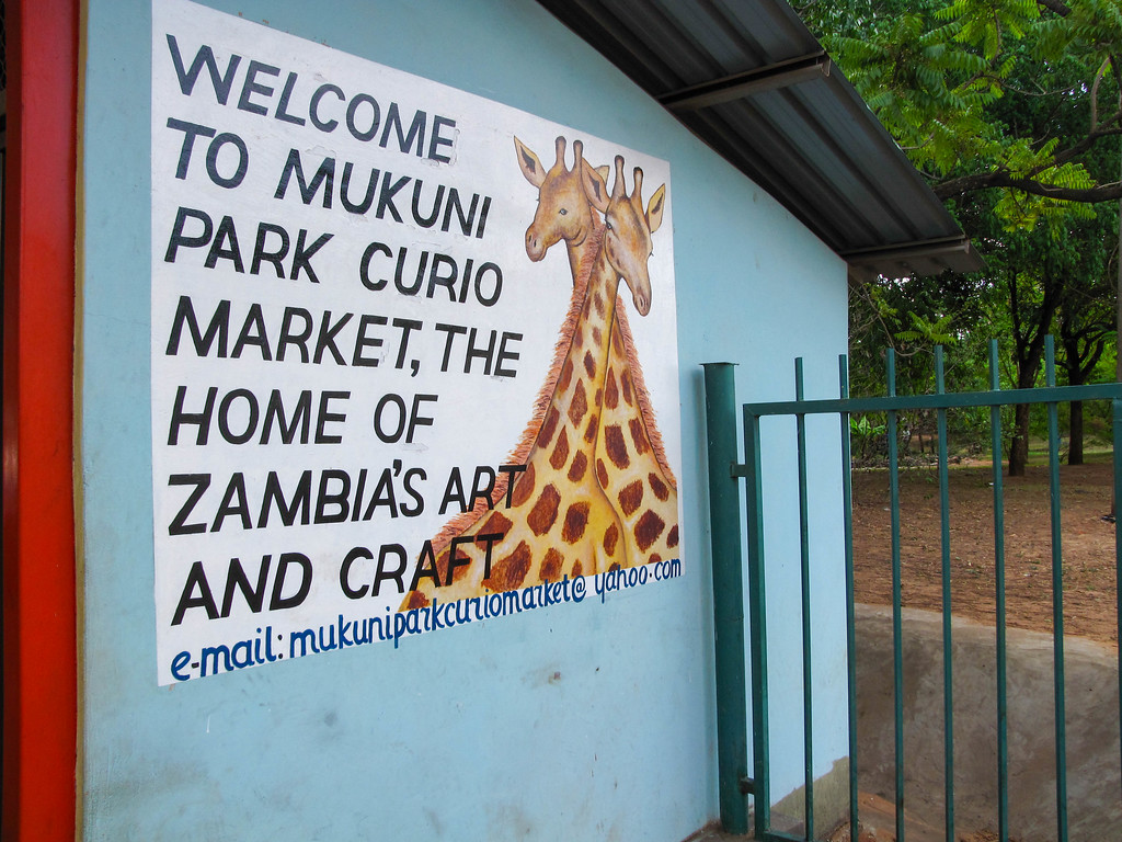 Mukuni Park Curio Market
