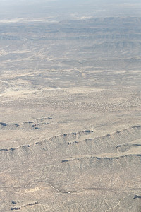 Namib desert from low flying aircraft, Namibia