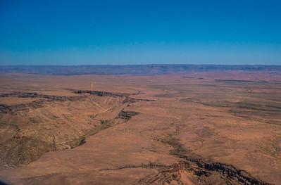 Landing at Fish River Canyon.
