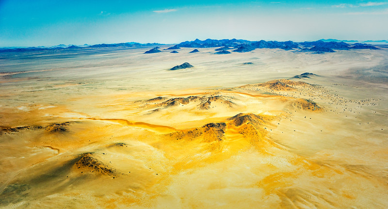 As we approached Luderitz, the terrain became more and more sandy as we reach the outskirts of the Namib Desert.