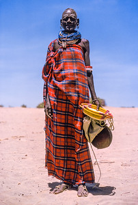 Old Turkana woman