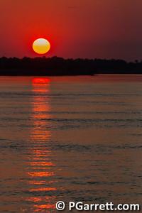 Sunset on the Zambizi