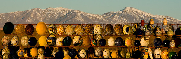 Plates and Mountains, Morocco