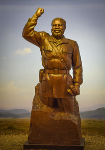 Sam Nujoma sculpture, Independence Memorial Museum, Windhoek, Namibia
